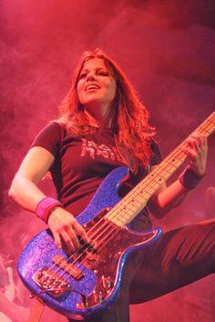 Wanda Ortiz of The Iron Maidens (Female Tribute to Iron Maiden)