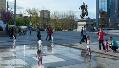 """https://flic.kr/p/te2ZPm   Kids Playing in the Mother Theresa Square fountain - Pristina, Kosovo   All Images © 2015 Paul Diming - All Rights Reserved - Unauthorized Use Prohibited.  Please visit <a href=""""http://www.pauldiming.com"""" rel=""""nofollow"""">www.pauldiming.com</a>!"""