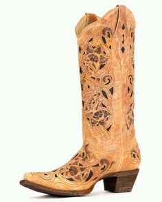 a5ddbef375c Corral Women s Ant Saddle Brushed Boot - could tell these were the boots  for me the moment I put them on. I have bunions