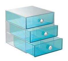 Jewelry trinket box $17 https://www.amazon.com/InterDesign-3-Drawer-Multipurpose-Storage-Container/dp/B00BNUXIRI/ref=sr_1_1?s=home-garden