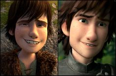 He's still the same Hiccup. I can't believe that people say he looks to different. They aged him so well. Best comparison I've seen.
