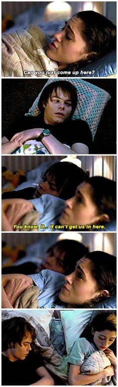 I don't wanna be alone. Do you? No. #stranger things #1x06 #nancy wheeler…