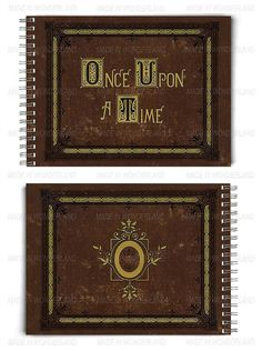 Once upon a time Book // Notebook // Henry's Storybook // OUAT