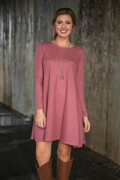 Casual Cadence Dress, Blush