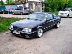 Opel Monza ACT Alufelgen breit schwarz stark weiße Blinker Sportfahrwerk tiefer