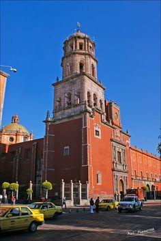 Church of San Francisco, Santiago de Queretaro, Queretaro, Mexico