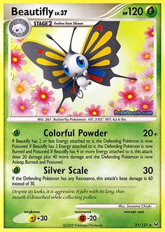 Beautifly Pokemon Card