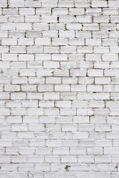 Colour Inspiration: white brick inspired by colour of homes built on Mars