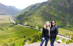 Citadel ruins in the Sacred Valley, Peru