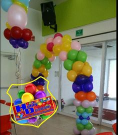 Arco de globos colores