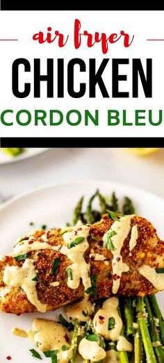Anytime I can satisfy my cravings for cheesy chicken recipes in a way that doesn't involve a lot of carbs I am ecstatic. Air Fryer Chicken Cordon Bleu is one of my go-to dinners. I prepare the sauce and breading as part of my weekly meal prep, which makes this keto dish a cinch to throw together. #kickingcarbs #lowcarbrecipe #ketodinner #keto Cheesy Chicken Recipes, Keto Chicken, How To Cook Chicken, Budget Dinners, Dinner On A Budget, Chicken Cordon Bleu Oven, Veggie Fries, Meal Prep For The Week, Perfect Food