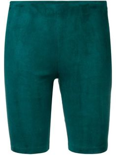 Shop online green Manokhi cycling shorts as well as new season, new arrivals daily. Phenomenal luxury selection, get it now with quick Global Shipping or Click & Collect orders. Bicycle Maintenance, Cycling Shorts, Green Suede, Size Clothing, Women Wear, Delivery, Fall, Winter, Shop