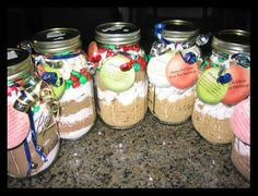 Crafty Christmas Gifts in a Jar