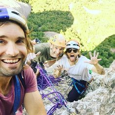 Instagram @JaredLeto The Monserrat trio  chris_sharma instagram.com/p/BHKyl7fBHfx/