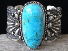 Guy Hoskie Carico Lake Turquoise Brac... at Chacodog.com--I wish my wrist (and my wallet) wee a bit bigger!