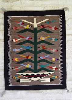 Tree of life Navajo Weaving