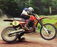 Motocross Riders, Disney Secrets, Vintage Motocross, Honda Cr, Vintage Bikes, Dirt Bikes, Sidecar, Bike Trails, Scrambler