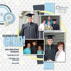 Off of Project Center. I wish I had seen this idea for my son's grad.