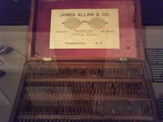 1890-1900 - Trial lenses from the James Allan & Co. from Charleston, SC.