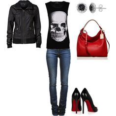 night out, created by forevermelanie on Polyvore