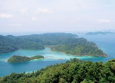lamp island beaches Mergui Myanmar
