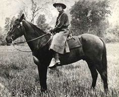 Clare Marie Hodges, the 1st female park ranger in the National Park Service