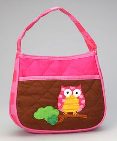 Take a look at this Owl Quilted Purse by Stephen Joseph on #zulily today!