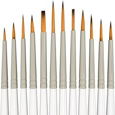 Detail Paint Brush Set - 12 Miniature Brushes for Art Painting - Acrylic, Watercolor, Oil MyArtscape http://www.amazon.com/dp/B010QLOJ3G/ref=cm_sw_r_pi_dp_3vNYwb15C6G9C