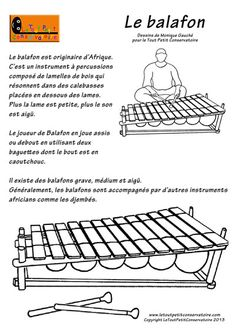 balafon Instrument Percussion, Classical Music, Musical Instruments, Coloring Books, Images, Education, Siena, Continents, Tour