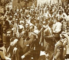 Ramallah - رام الله : RAMALLAH - Palm Sunday in ramallah 1950s 60s - Naseeb…
