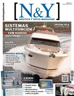 N&Y #Náutica y #Yates Magazine 4. Vendée Globe Acciona Mini Barcelona KT3D: vuelta al mundo a vela y en globo Tecnología oceánica. Innovaciones a prueba en la Vendée Globe.