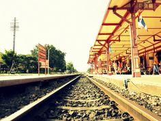 Globetrotter: #HuaHin Train Station, #Thailand. #Bangkok #Thailand  For more pic : https://www.facebook.com/lilyrianitravelholic
