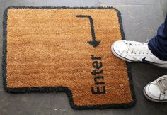 Awesome doormat.