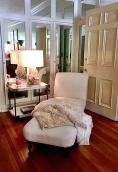 Beth Webb dressing room Maison de Luxe