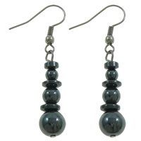 Hematite Jewelry, Drop Earrings, Amazon, Natural, Stuff To Buy, Accessories, Products, Fashion, Moda