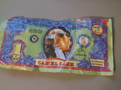 Randomly found a Camel Cash C-note (circa early 90s) blowing around in a parking lot in surprisingly decent condition