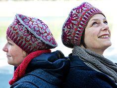Ogiku beret : Knittyspin Deep Fall 2011