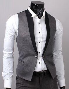 SLS Distributors Men's Boutique, LLC - Duo Tone Vest, $36.89 (http://www.slsdistributors.com/duo-tone-vest/)
