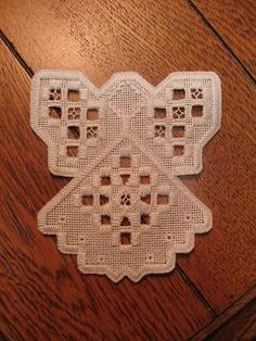 hardanger patterns free   hope to stitch up a number of these angels for Christmas gifts. Keep ...