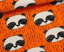 Sweat - Panda - Bär - Deep Orange - Andrea Lauren