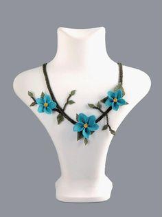 Turkish Oya necklace