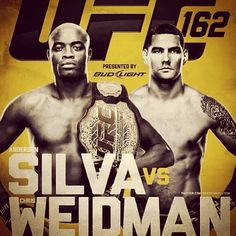 Looking forward to UFC 162 this Saturday. Weidman is going to take the MW Belt! #UFC162 #weidman by scottyweb, via Flickr