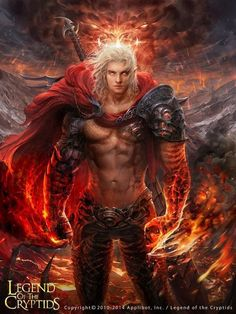 A badass sexy vampire man with killer abs. Guerrero caos legend of the cryptids Fantasy Art Men, Fantasy Warrior, Anime Fantasy, Fantasy Artwork, Fantasy World, Fantasy Creatures, Mythical Creatures, Fantasy Inspiration, Character Inspiration