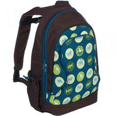Lassig Kids Blue Savannah Print School Backpack