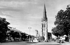 Cathedral of St. Michael and St. George, Grahamstown, South Africa (1950) by HiltonT, via Flickr