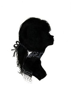 Silhouette bows by Charmaine Olivia