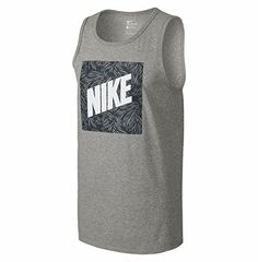 NIKE Nike Men'S Palm Print Box Tank Top. #nike #cloth #