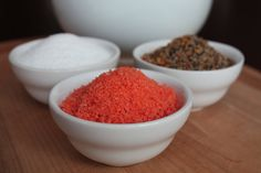 Sriracha infused coarse sea salt