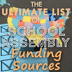 The Ultimate List of School Assembly Funding Sources Guest Speakers, School S, Education Quotes, Motivational, Entertainment, Check, Blog, Free, Educational Quotes