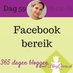 Facebook bereik: wat zeggen die cijfers nu over je blog? En natuurlijk belangrijker wat kun je hier mee op het gebied van inspiratie. BlogQueen legt uit.